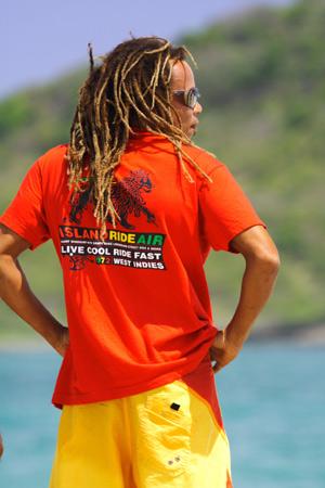 St Lucia kitesurfing beach culture