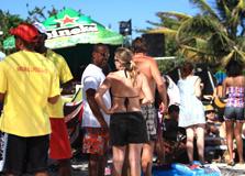 St Lucia beach culture
