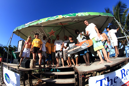 Kitesurfing results - St Lucia fiesta